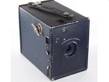 Rare Dark Blue Vintage AGFA SCHULPRAMIE   Old 6x9 120 Vintage Film Camera c1930s