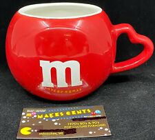 2005 M&M'S Red Heart Handle Coffee Mug/Cup Novelty Advertising