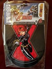 Broadsider Skate Board Stickers Marvel Avengers Black Widow