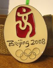 BEIJING 2008 Olympics import belt NWT Summer Games XXIX Olympiad China