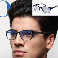 Progressive Multifocal Reading Glasses Anti Blue Light Lens Frame Unisex New