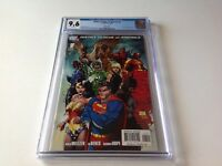JUSTICE LEAGUE OF AMERICA 1 CGC 9.6 WHITE PS MICHAEL TURNER VARIANT CVR DC COMIC