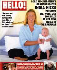 HELLO MAGAZINE #467 NURSE LINDA POTTS, MIA FARRO, INDIA HICKS, MICHAEL JACKSON