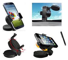 WindScreen Suction Mount Car Phone Holder for LG L70 L80 L90 & Navigation Stylus