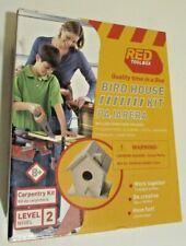 Red ToolBox Birdhouse Kit Sealed