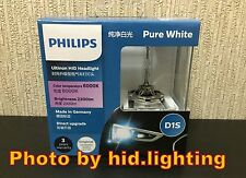Genuine Philips 6000K Ultinon Flash White D1S XenStart HID XENON Bulb lamp 35W