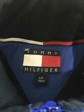 Vintage Tommy Hilfiger Windbreaker Jacket Sz S Puffer Rare Hip hop USA