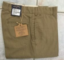 NWT Bills Khakis M2-KNT Cotton/lyocell NASSAU TWILL SOFT KHAKI sz 32 MSRP $165