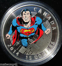 NEW Canada Fine Silver Coin Iconic 1972 Superman Comic Covers: Action Comics 419
