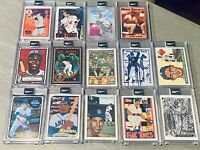 Topps PROJECT 2020 - 21 Card Lot Ryan Ripken Griffey Koufax Jeter Trout Griffey
