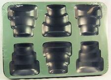 Mini Tiers Cake Pan 6 Cavity Non Stick Cake Pan 44920 NEW