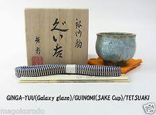 o5700,Japanese,TETSUAKI NAKAO, Galaxy glaze GUINOMI SAKE Cup/ class A.
