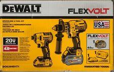 Brand New Dewalt 20V XR Brushless 2-Tool Kit DCK299D1T1 Free Shipping
