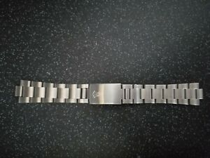 Oyster bracelet, 20mm stainless steel. For Rolex. Rolex Stamped.