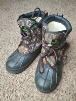 Magellan Outdoors Real Tree Camouflage Insulated Boots Academy, Lt  Youth Size 5