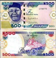 Nigeria 5 pcs x 50 Naira 2007 UNC Lemberg-Zp
