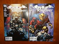 Batman The Dark Knight Issues 3 and 4 Aug and Sep 2011 David Finch  DC Comics