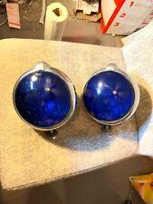 Pair of Vintage Original Auto Parts Lights Lamps