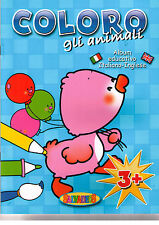 Coloro gli animali - 3+ album educativo italiano inglese. BLU - offerta !
