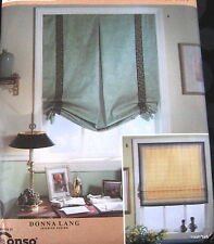 """Window SHades w/ woven tape Window Treatment by Donna Lang 36"""" wide"""