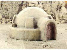 [ON VACATION]Tatooine Desert Style Round House 133x121x72mm Terrain Scenery