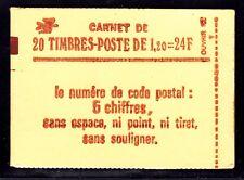 FRANCE CARNET 1974-C4 ** MNH carnet fermé, conf. N° 8, cote: 24  €