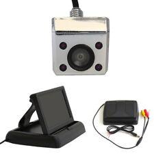 Rückfahrkamera unterbau Aufbau 12V mit 4,3 Zoll Monitor IR Nachtsicht klappbar