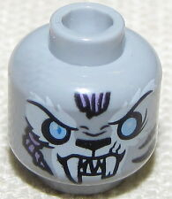 LEGO NEW GREY SKYOR LEGENDS OF CHIMA MONSTER MINIFIG HEAD PIECE
