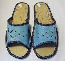 Damen Hausschuhe - Größe 36-40 - Echtleder - Latschen,Pantoffeln - Ci-99