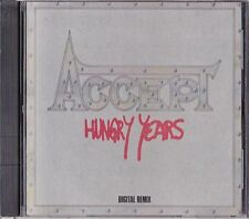Accept Hungry Years Japan 1st CD 1987 P35X-20004