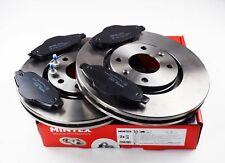 MINTEX FRONT BRAKE SET DISCS, PADS PEUGEOT 308 3008 MDK0233 (REAL IMAGE OF PART)