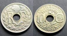 10 Centimes LINDAUER, MAILLECHORT, 1939 TTB+
