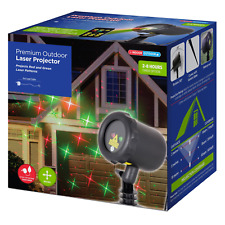 Outdoor Christmas Laser Projector Red Green Cosmic Pattern Lights LED waterproof