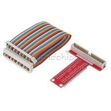 T-Shaped Breakout Expansion Board + 40Pin GPIO Cable for Raspberry Pi B+ Pi 2 US