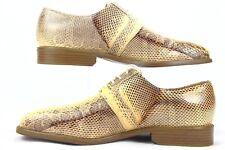 Giorgio Brutini Private Collection Genuine Snake Shoes Men's Size 10M 155229-2
