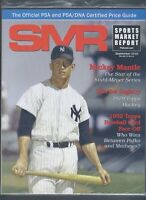 SMR Sports Market Report PSA/DNA Guide Magazine MICKEY MANTLE  9/2016 NEW