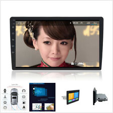 "Quad Core Android 8.1 4G WIFI 10.1"" Single 1DIN GPS DAB Car Radio Stereo Player"