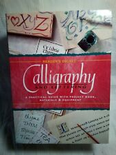 Readers Digest Calligraphy & Lettering Set Project Book Materials Equipment New