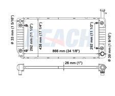 Radiator Reach Cooling 41-2791