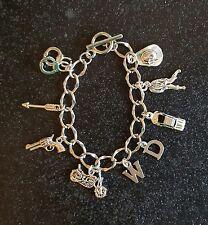 Walking Dead, Zombie themed charm bracelet