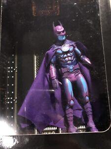 NECA DC Batman Action Figure [1989 Video Game Appearance] & accessories