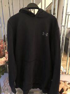 Under Armour Mens Cold Gear  Rival Fleece Pullover Hoody Sweatshirt Top Size XL
