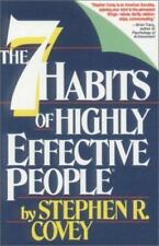 The 7 Habits of Highly Effective People Stephen Covey Cassettes Audiobook
