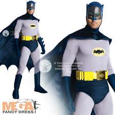 Grand Heritage Batman Mens Fancy Dress Superhero Character Adults Costume Outfit