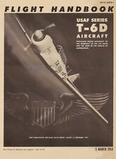 NORTH AMERICAN T-6D TEXAN - FLIGHT HANDBOOK - 1953
