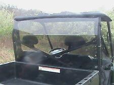 09-13 Polaris Ranger 800XP Tinted Rear Windshield Panel- 1/4 Thick Polycarbonate