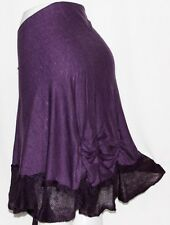 PURPLE Tribal Fusion Belly Dance Dancing Burlesque Gothic Shawl Hip Scarf Belt