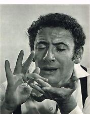1960s Vintage Marcel Marceau Portrait Yousuf Karsh Photo Photogravure Print