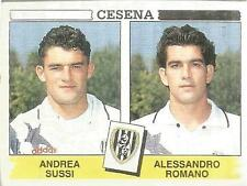 [AJA] FIGURINA CALCIATORI PANINI 1994/95 CESENA SUSSI-ROMANO