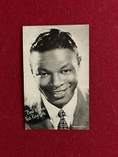 "1940's, Nat King Cole, ""Un-Used"" Post Card (Scarce / Vintage)"